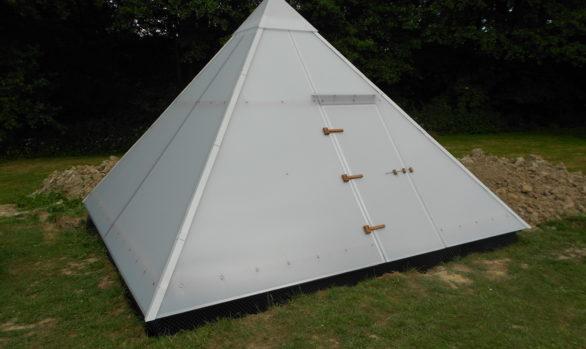 Zahradní pyramida - Z 4×4 m / ɑ 52°