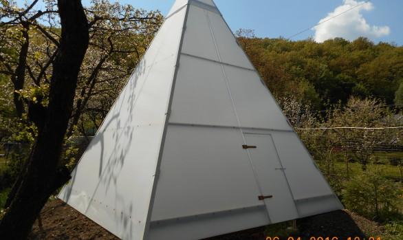 Zahradní pyramida -  Z 4×4 / ɑ 67°