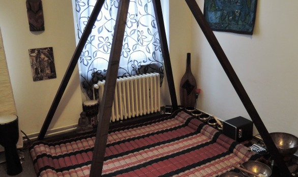 Skládací meditační pyramida - interiérová